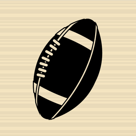 football ball: sport concept icon design, vector illustration eps10 graphic