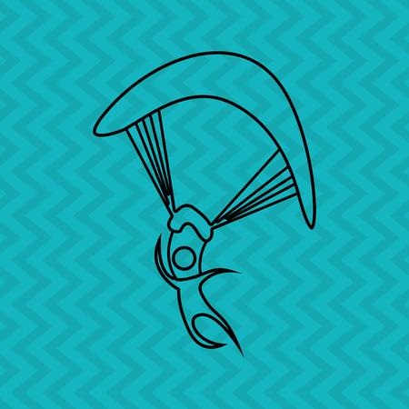 x sport: extreme sport design, vector illustration eps10 graphic
