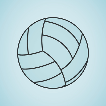 balon de voley: sport concept icon design, vector illustration eps10 graphic
