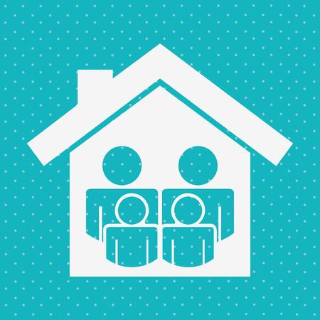 life event: insurance icon design, vector illustration eps10 graphic
