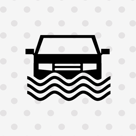 water damage: insurance icon design, vector illustration eps10 graphic