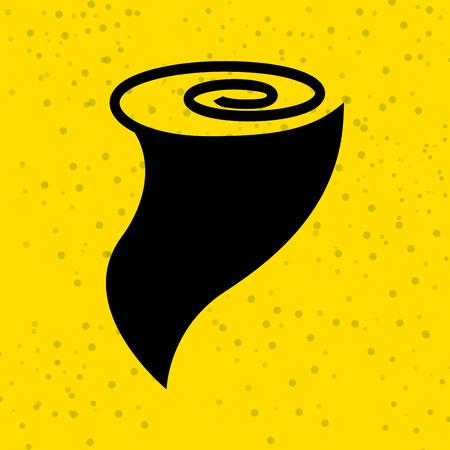 hurricane disaster: twister icon  design, vector illustration eps10 graphic