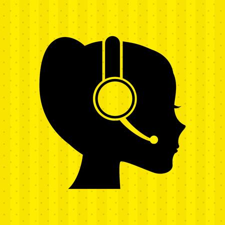 customer service icon  design, vector illustration eps10 graphic