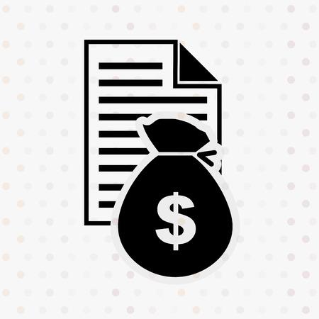 incomes: money concept design, vector illustration eps10 graphic