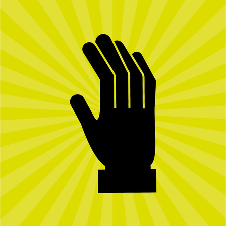 people helping people: hand human design, vector illustration eps10 graphic