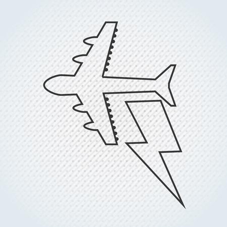 planos electricos: seguros icono del diseño, ilustración vectorial gráfico eps10 Vectores