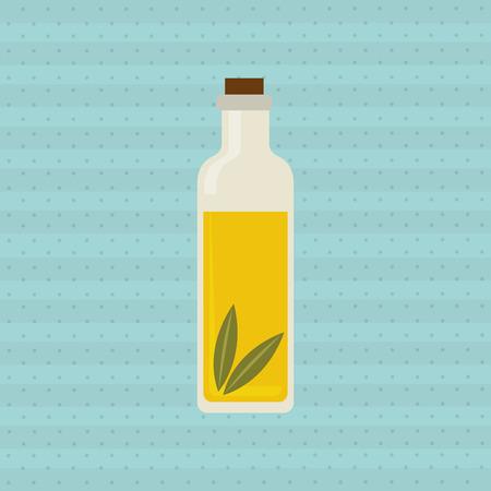 conception de l'huile d'olive, illustration graphique eps10