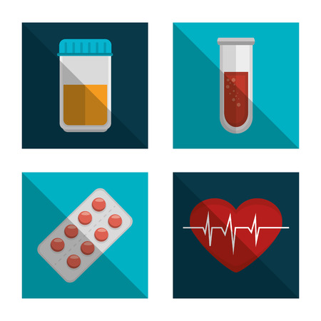 care: medical care design, vector illustration eps10 graphic