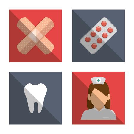 healthcare worker: medical care design, vector illustration eps10 graphic