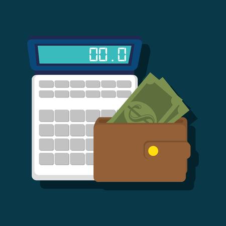 estimation: calculating costs design, vector illustration eps10 graphic Illustration