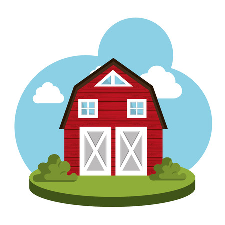 home grown: farm fresh design, vector illustration eps10 graphic Illustration