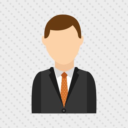 an avatar: avatar person design, vector illustration eps10 graphic Illustration