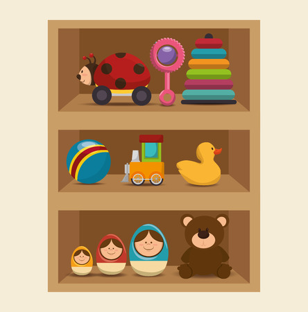 symbol sign: cute toys design, vector illustration eps10 graphic Illustration