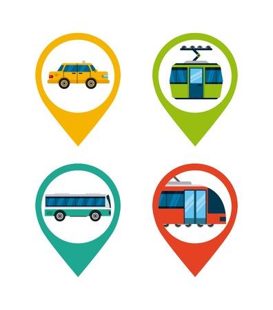 cabel: mass transport design, vector illustration eps10 graphic