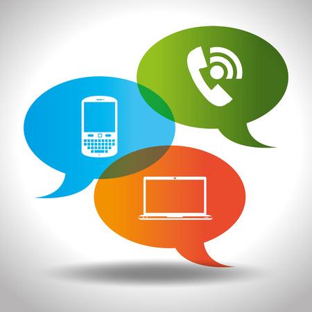 communication concept: communication concept design, vector illustration eps10 graphic