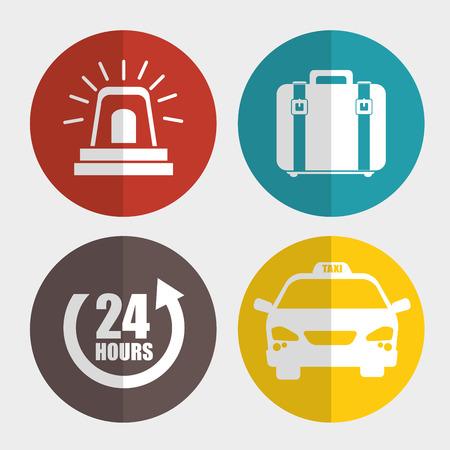 ligh: transport service design, vector illustration eps10 graphic Illustration
