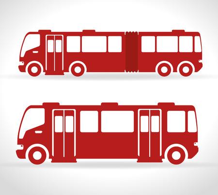 fleet: bus transportation design, vector illustration eps10 graphic Illustration
