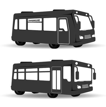 bus transportation design, vector illustration eps10 graphic Illustration