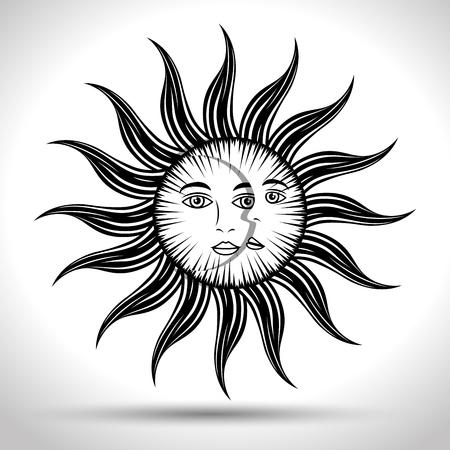 signes astrologiques du zodiaque, illustration graphique eps10 Vecteurs