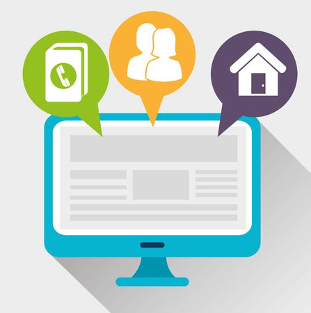 web directories: mobile apps design, vector illustration eps10 graphic