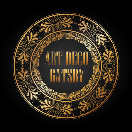 great: art deco element design, vector illustration eps10 graphic Illustration