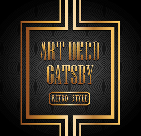 art deco element design, vector illustration eps10 graphic Иллюстрация