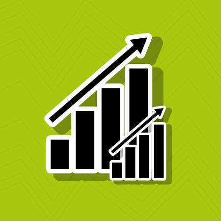 business graphics: growth icon design, vector illustration eps10 graphic