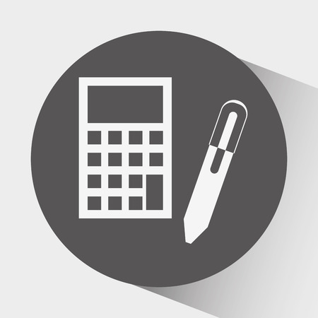 accounting icon: accounting icon design, vector illustration eps10 graphic