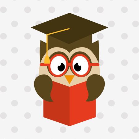 owl bird design, vector illustration eps10 graphic