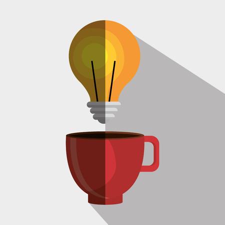 tea lamp: office icon design, vector illustration eps10 graphic
