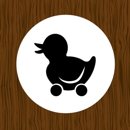 baby speelgoed pictogram ontwerp, vector illustratie eps10 afbeelding