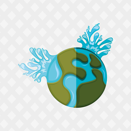 environment geography: earth planet design, vector illustration eps10 graphic