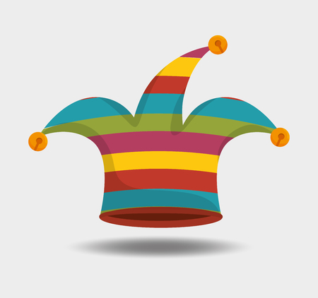 jester hat: jester hat design, vector illustration eps10 graphic Illustration