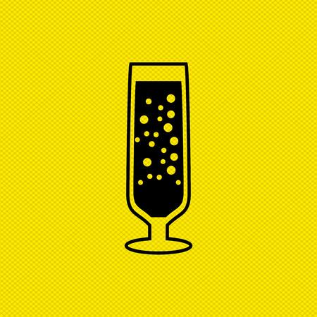 wine icon design, vector illustration eps10 graphic 免版税图像 - 54751914
