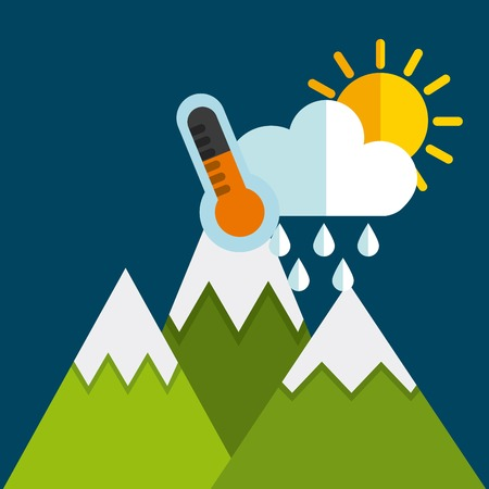 climate changes: weather condition design, vector illustration eps10 graphic