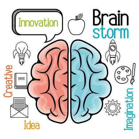 brain storming: brain storming design, vector illustration eps10 graphic