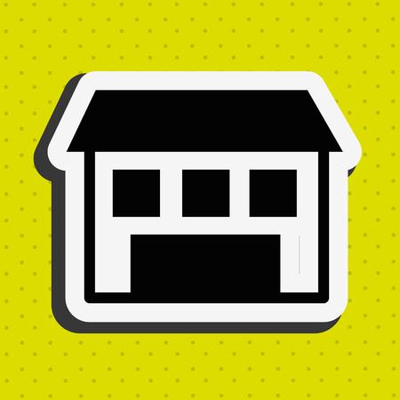 construction companies: real estate design, vector illustration eps10 graphic Illustration
