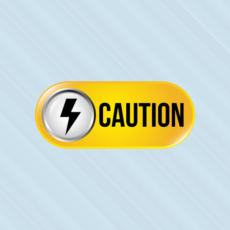 pictogram attention: caution sign  design, vector illustration eps10 graphic