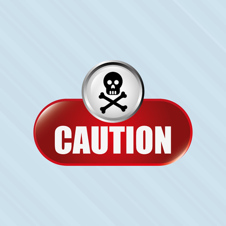 caution sign: caution sign  design, vector illustration eps10 graphic