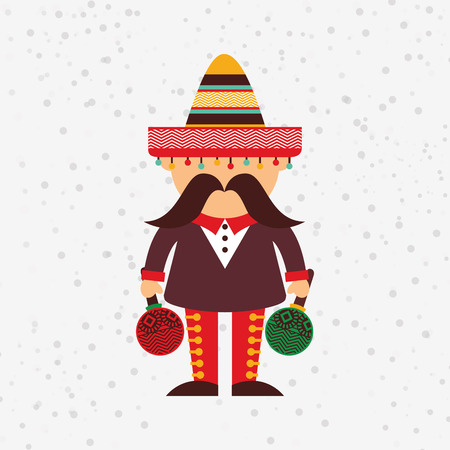 mexican culture: mexican culture icon design, vector illustration eps10 graphic