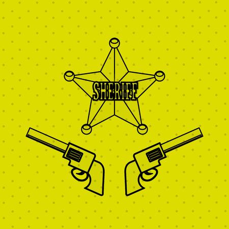 wild west icon  design, vector illustration eps10 graphic