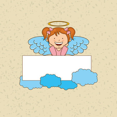 cute angel: cute angel design, vector illustration eps10 graphic
