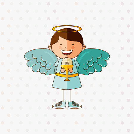 cute angel: cute angel design, vector illustration eps10 graphic