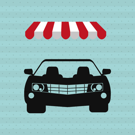 selling service: car sale design, vector illustration eps10 graphic