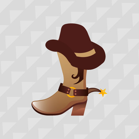 american history: wild west icon  design, vector illustration eps10 graphic