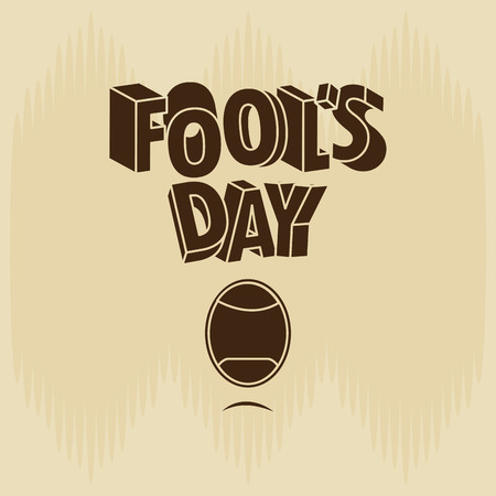 comedian: fools day design, vector illustration eps10 graphic Illustration