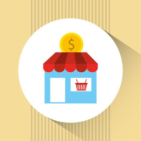 building trade: commerce concept design, vector illustration eps10 graphic