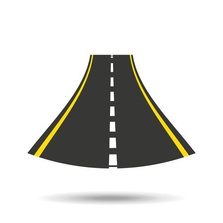 road sign design, vector illustration eps10 graphic Illustration