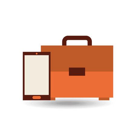 portfolio icon: portfolio icon design, vector illustration