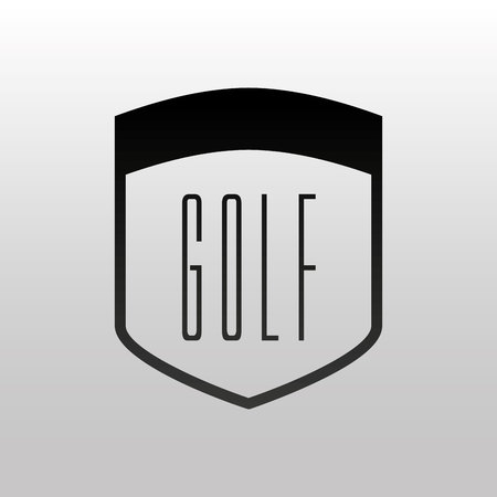 golf club design, vector illustration eps10 graphic